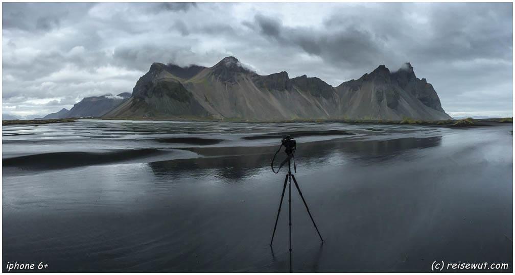 Unverzichtbar für deine Island Packliste - ein vernünftiges Stativ