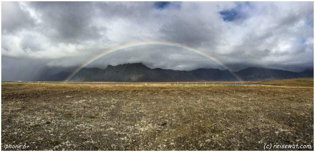 Snaefellsness Regenbogen