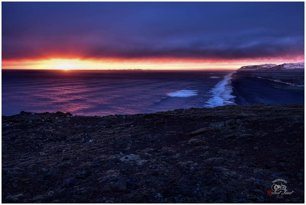 Dyrholaey Sunset