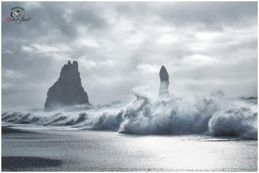Reynisdrangar gefährliche Wellen