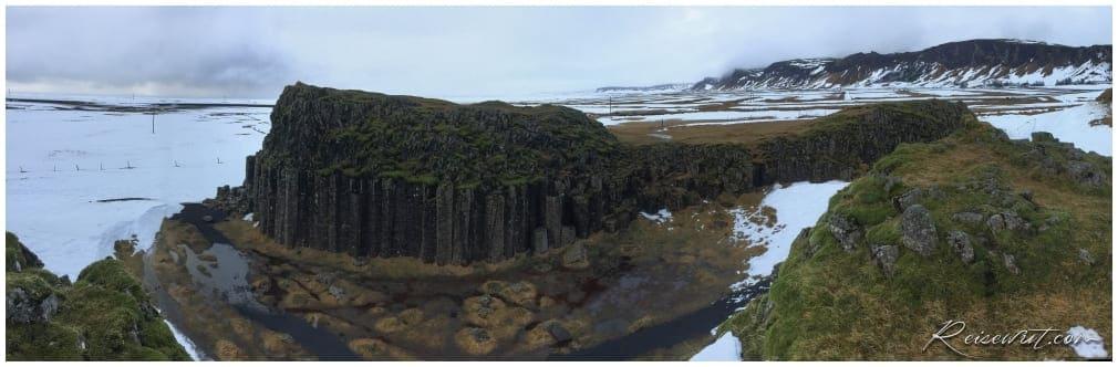 Die Basaltsäulen von Dverghamrar