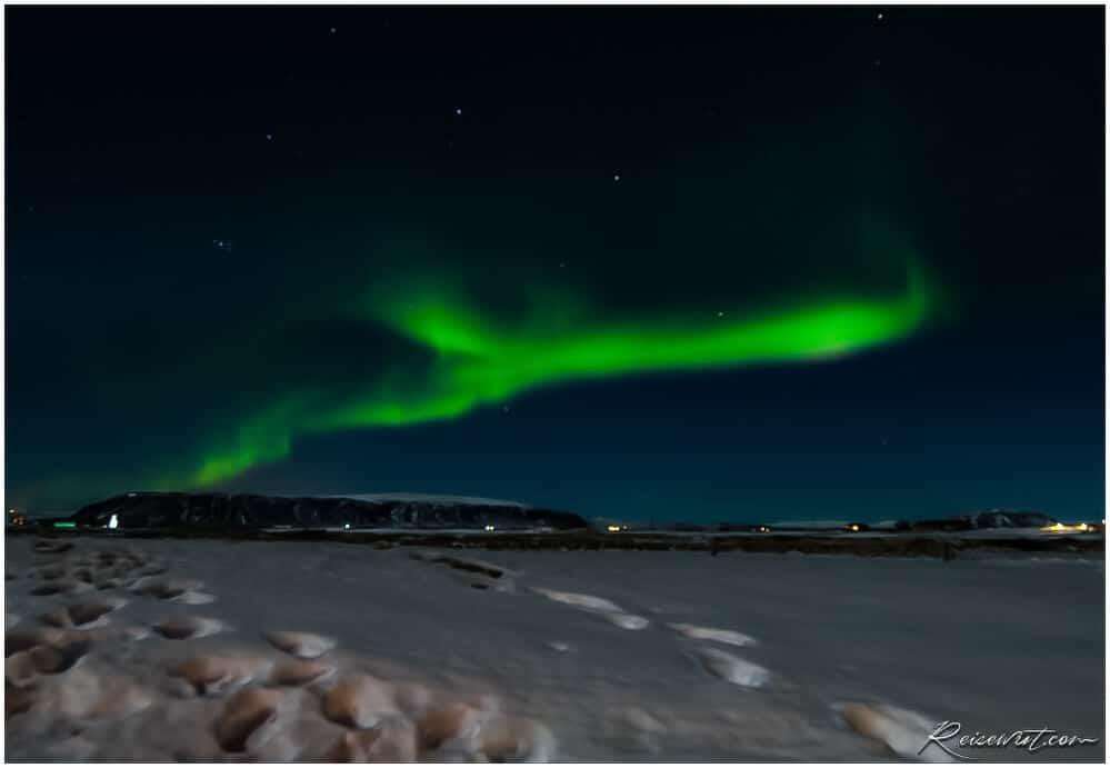 Selfoss Polarlicht