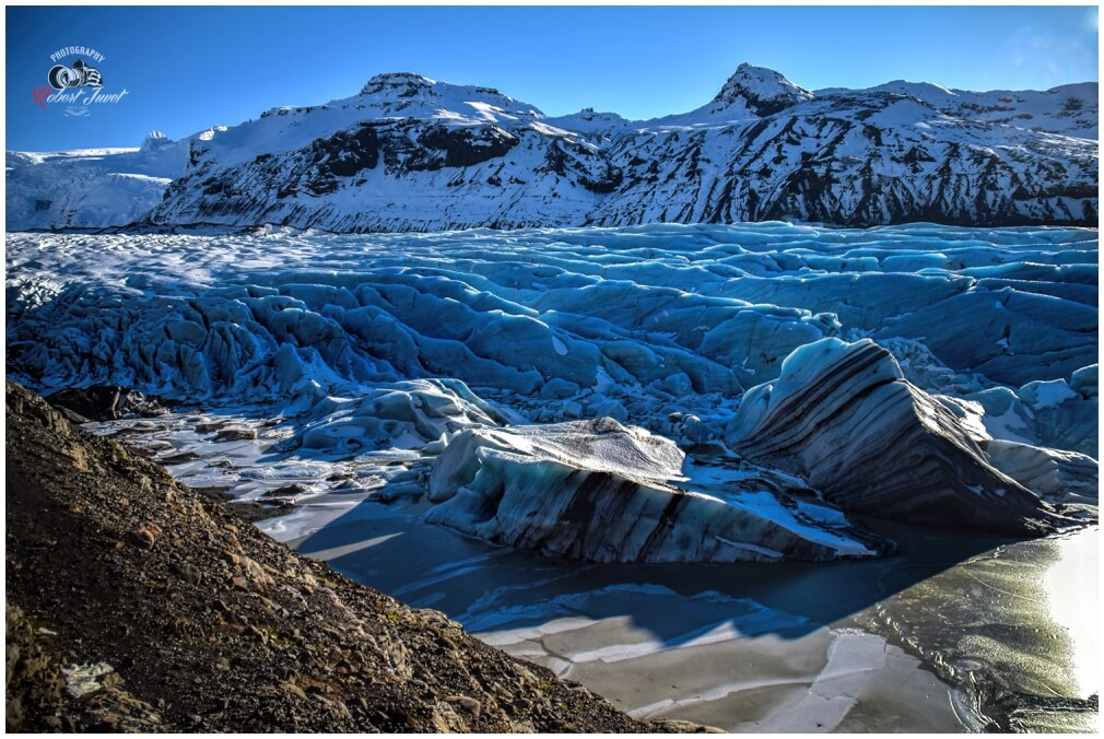 Svinafellsjoekull Gletscher