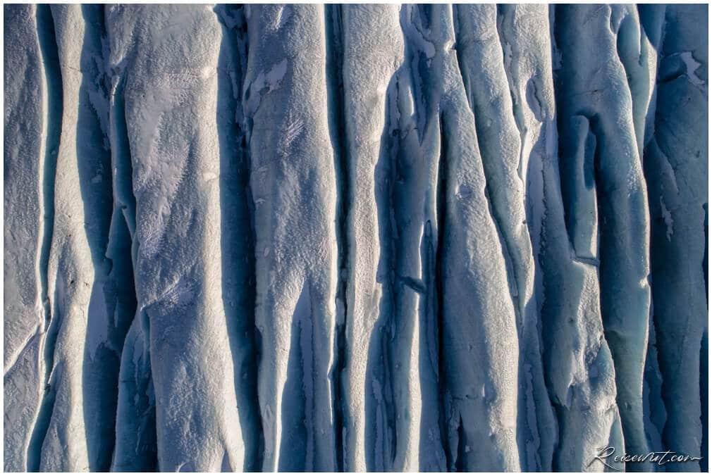 Sölheimajökull Glacier Aerial View