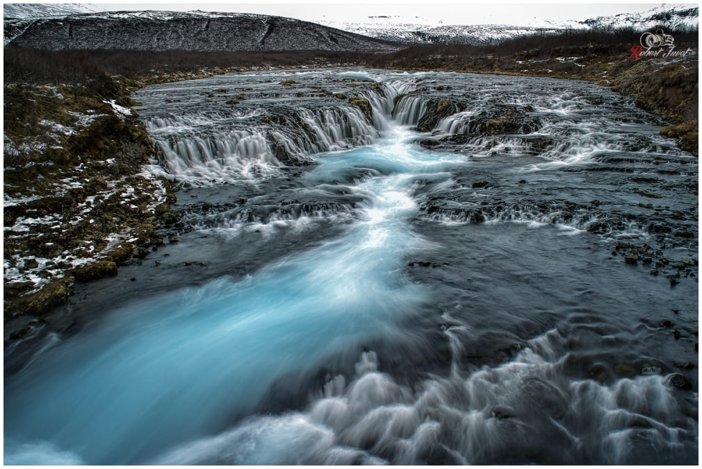 Bruarfoss Long Exposure