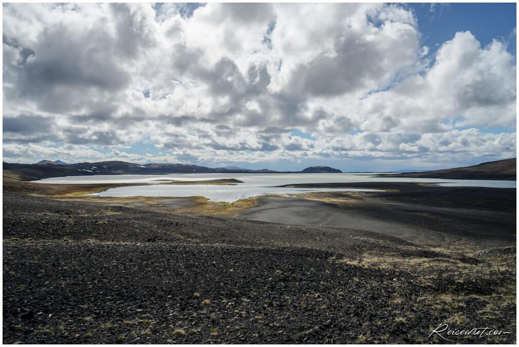 Blick ins isländische Hochland