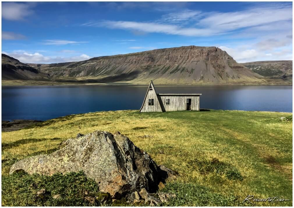 Die A-Barn befindet sich tief in den Westfjorden