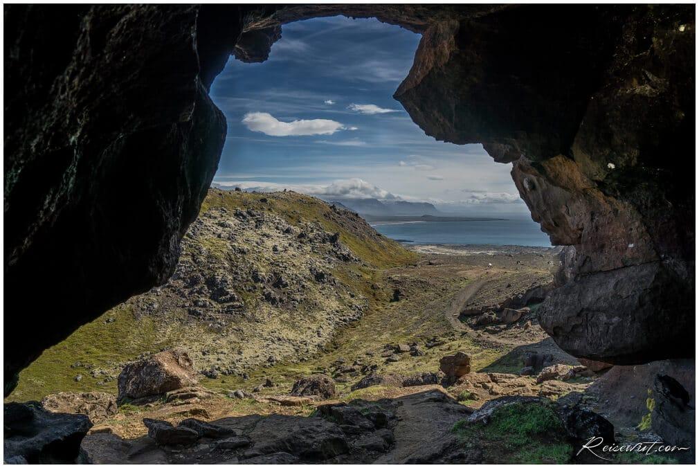 Soenghellir Höhle auf Snaefellsnes
