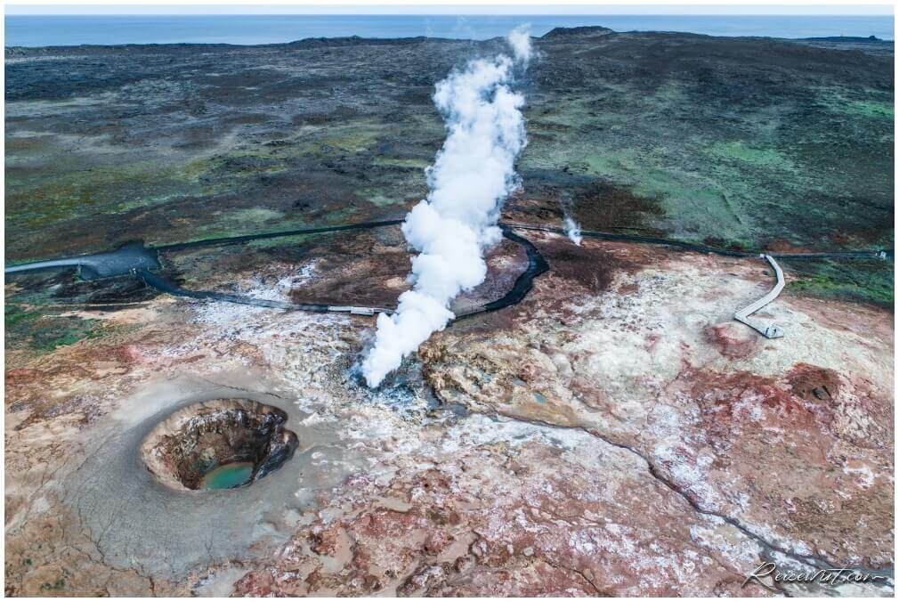 Ghunnuver Geothermal Area from above