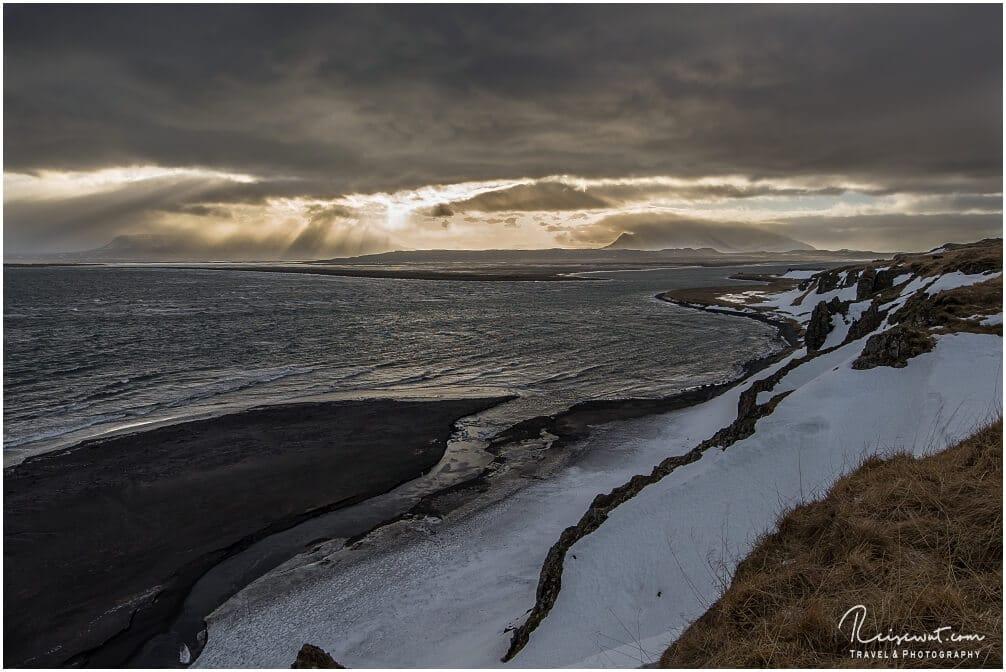 Fjord beim Hvitserkur