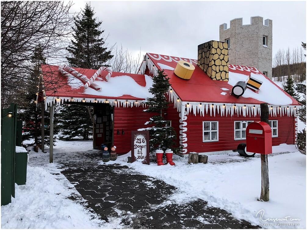 Das Christmas House vom Weihnachtsmann
