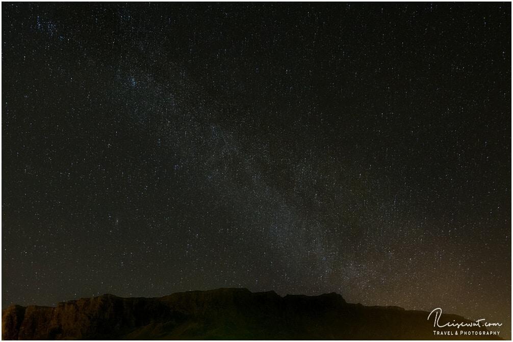 Versuch die Milchstraße abzulichten