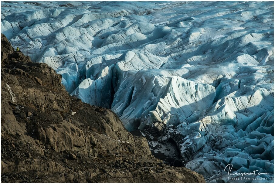 Der Svínafellsjökull beschert jedem, der zum ersten Mal dort hinkommt, pure Gänsehaut