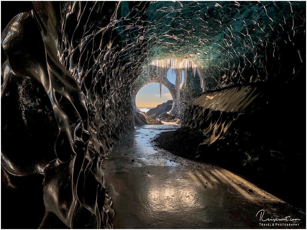 Die Treasure Island Icecave ist an Schönheit kaum zu überbieten
