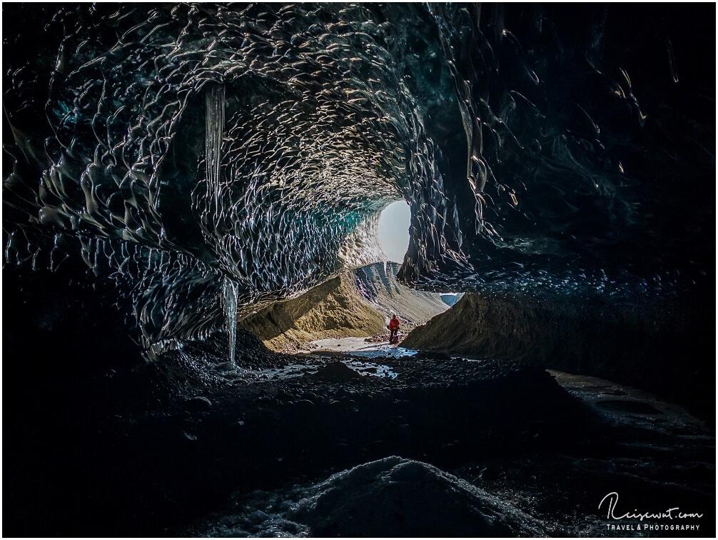 Lightroom Icecave Eingang von innen
