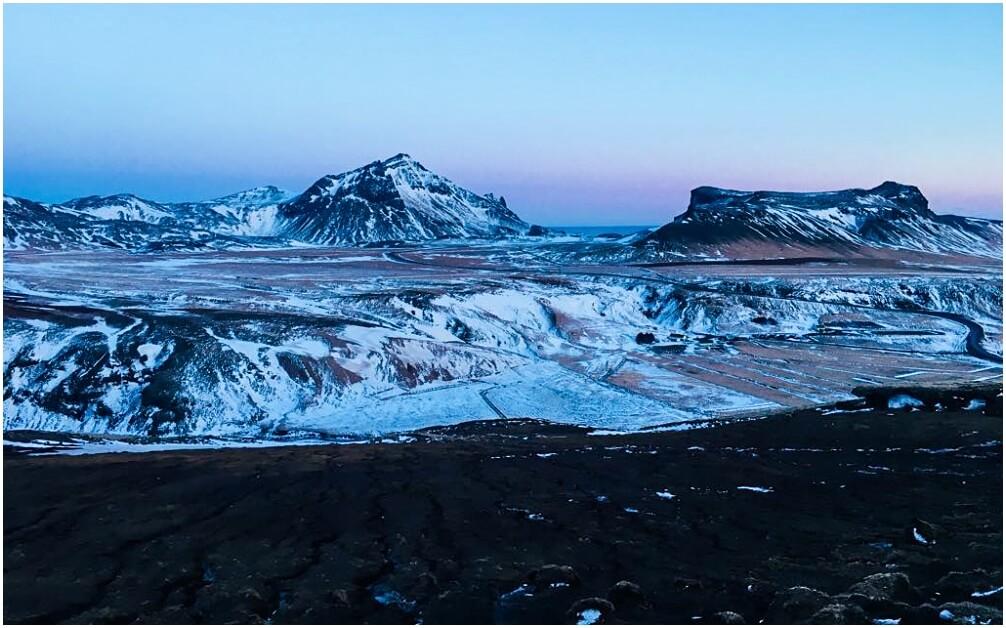 Aussicht von Jon's Berg