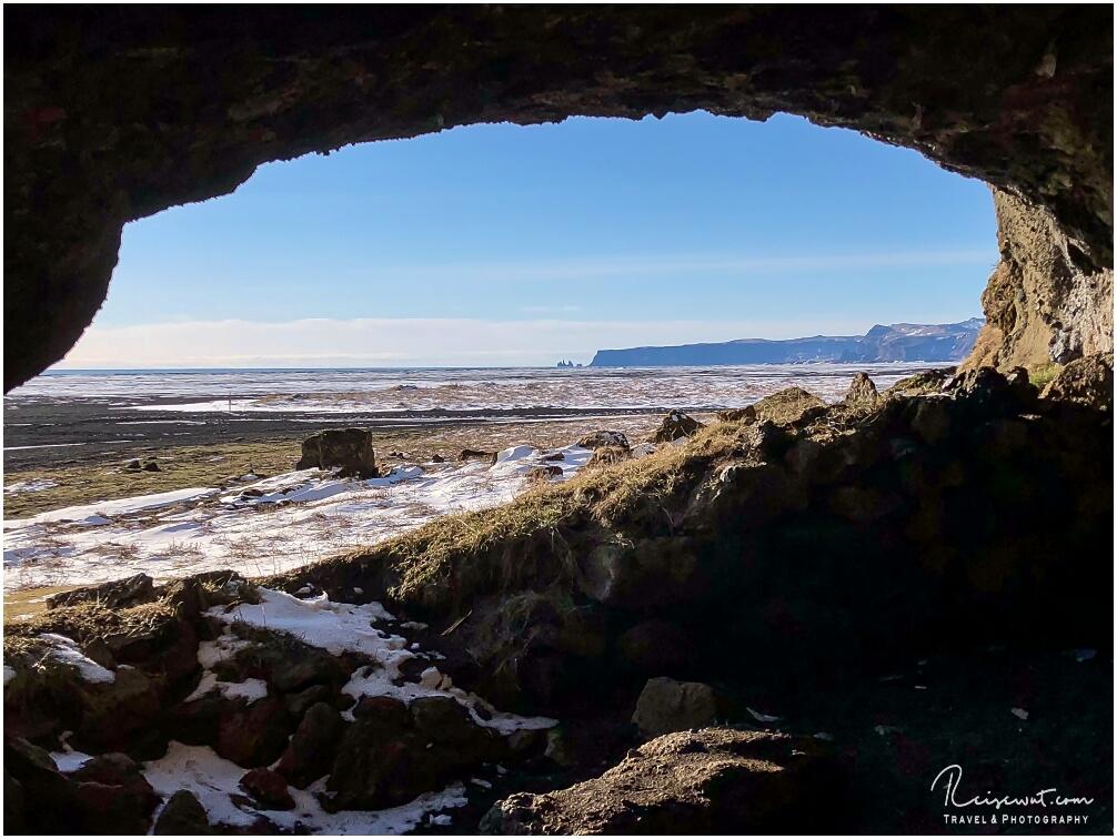 Höhle bei Hjörleifshöfdi