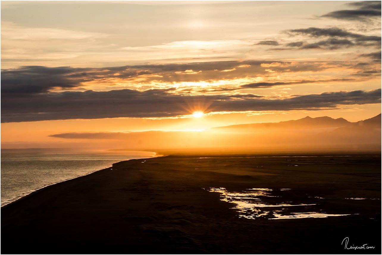 WENN es hier oben einen Sonnenuntergang gibt, dann hat dieser es wirklich jedes Mal in sich