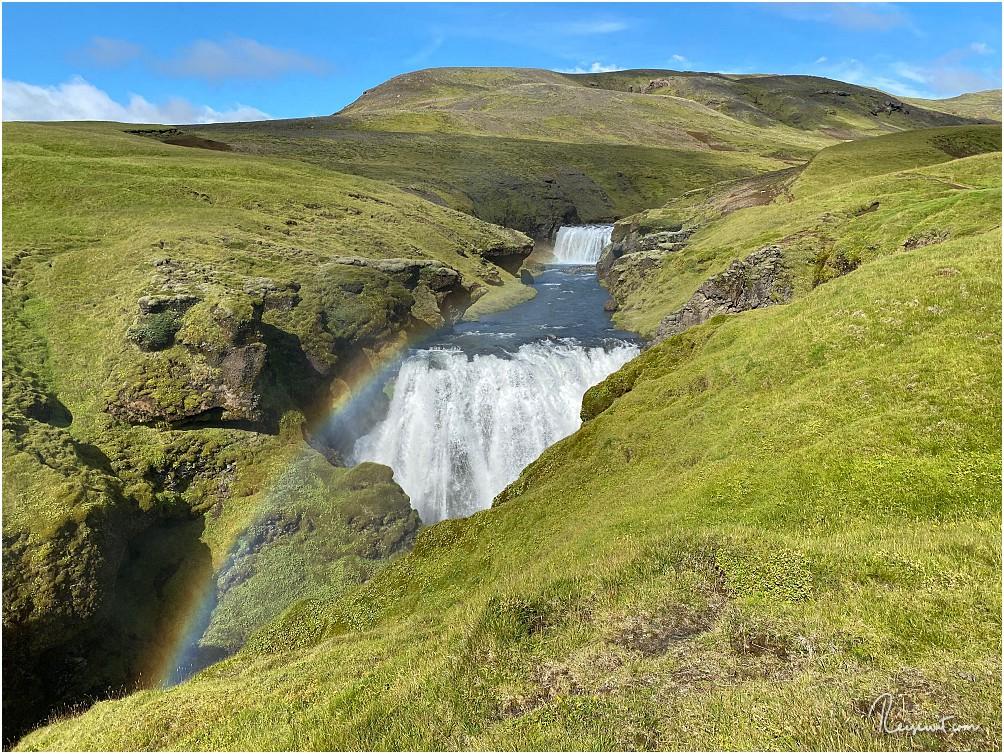 Wasserfälle über Wasserfälle und einer schöner als der andere