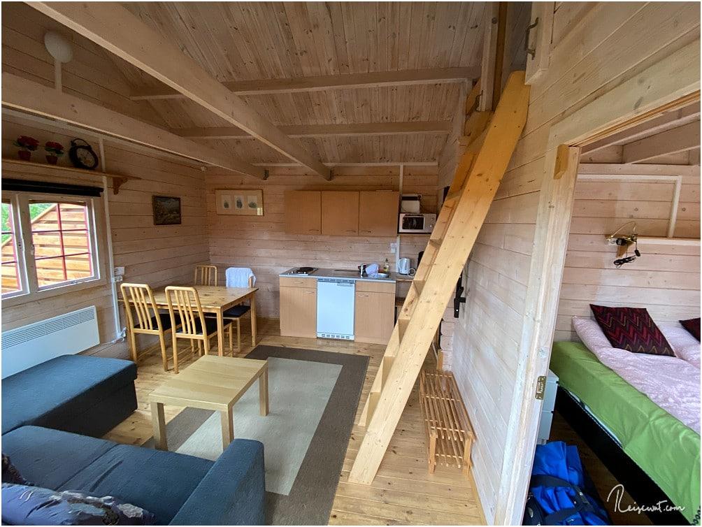 Auch heute hat unsere Unterkunft wieder eine perfekte Ausstattung und wäre theoretisch für 4 Personen geeignet