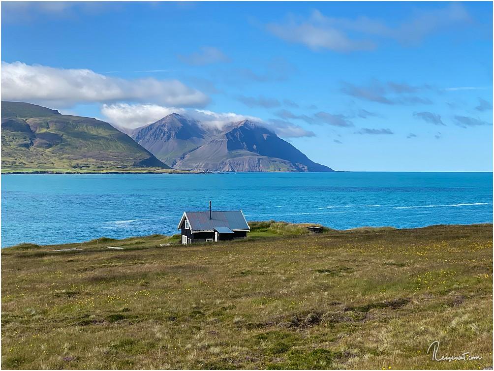 Das vermutlich am schönsten gelegen einsame Haus Islands