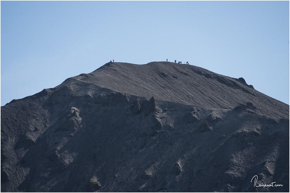 Die Aussicht oben vom Bláhnúkur ist sicherlich noch einmal ein kleines bisschen beeindruckender