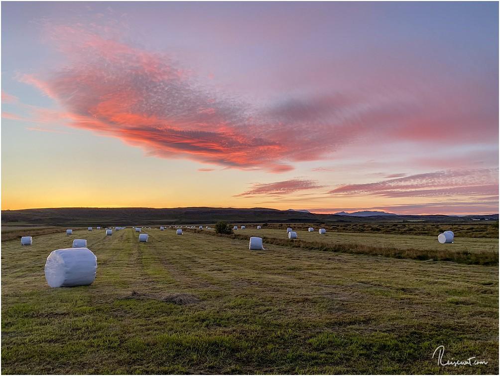 Trotz nur wenig vorhandener Wolken zeigt Island wieder, was möglich ist