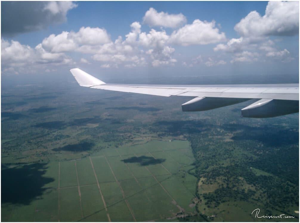 Jamaica von oben