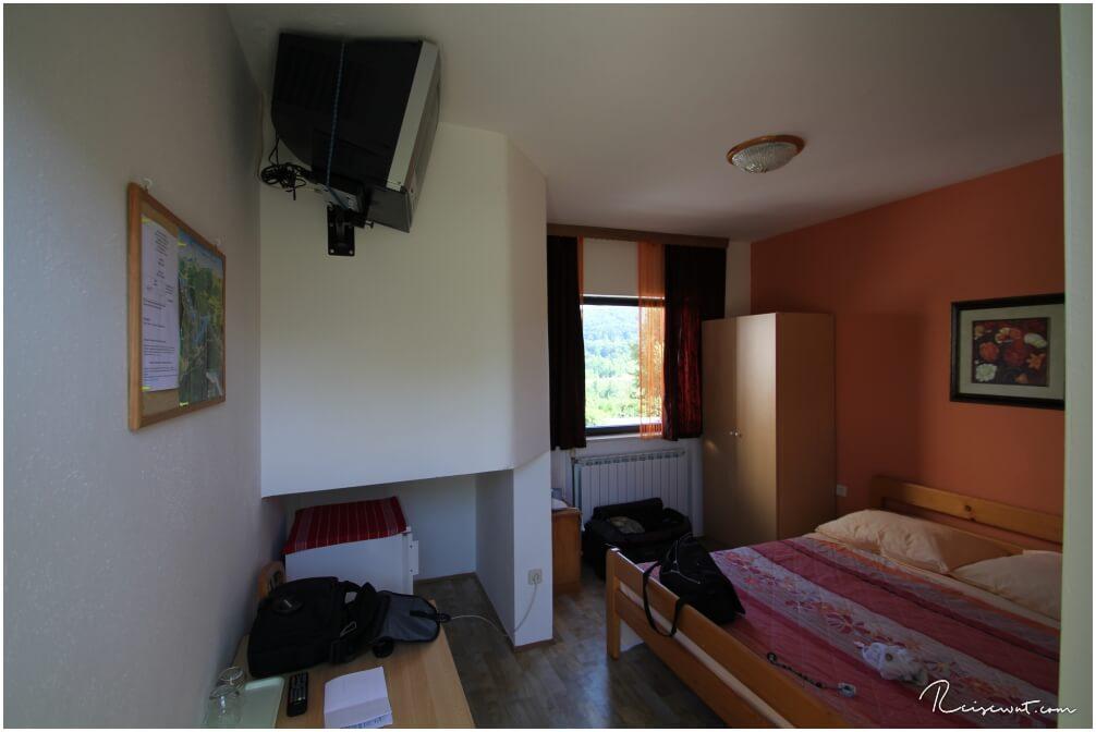 Unser kleines, aber feines Zimmer in der Pension Vucovic