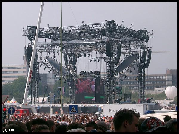 Loveparade 2007 - Bühne am Berliner Platz