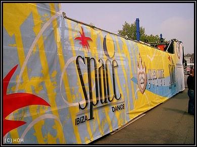 Loveparade 2007 - Space Ibiza Float