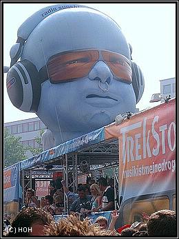 Loveparade 2007 - Sunshine LIVE
