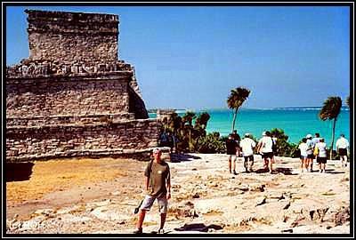 Tulum auf der Halbinsel Yucatan