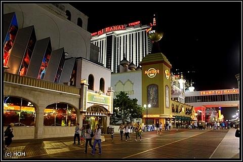 Boardwalk in Atlantic City