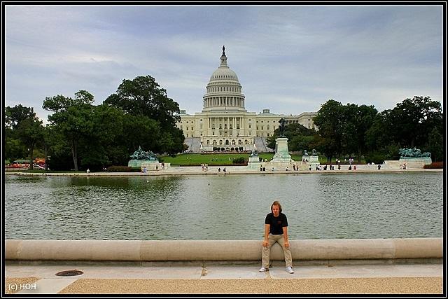Das Capitol in Washington DC