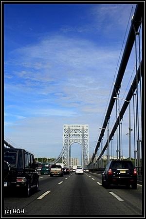 Auf der George Washington Bridge