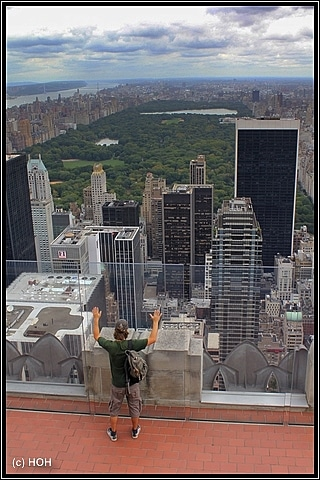 Blick auf den Central Park
