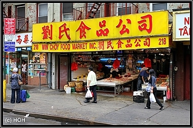 Laden in Chinatown