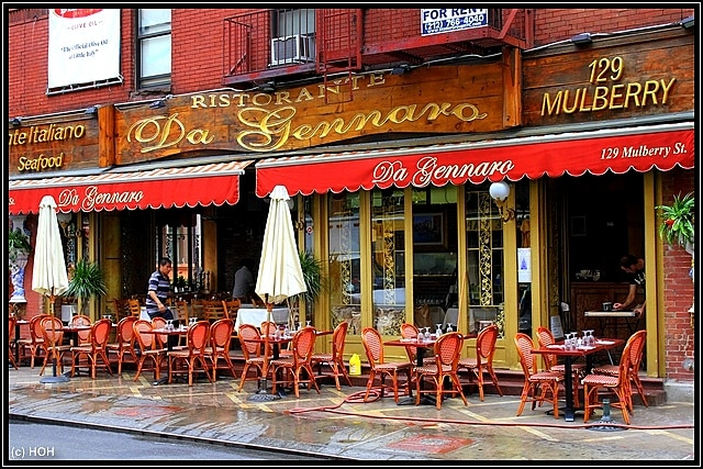 Restaurant in Little Italy