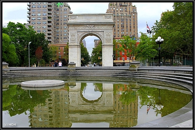 Triumphbogen im Washington Square Park
