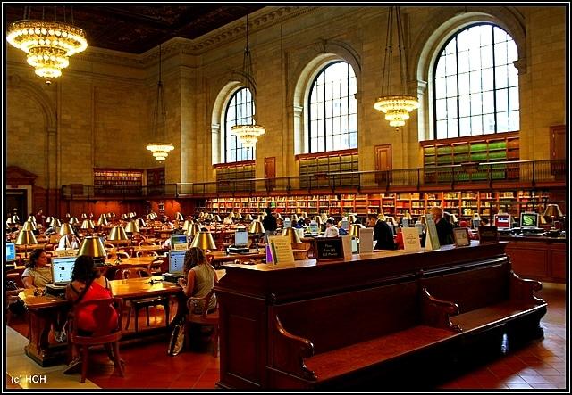 NYC Public Library – Rückflug