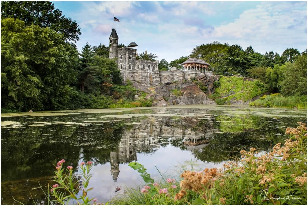 Das bekannte Belvedere Castle im Central Park