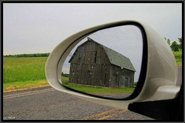 Barn in a Mirror