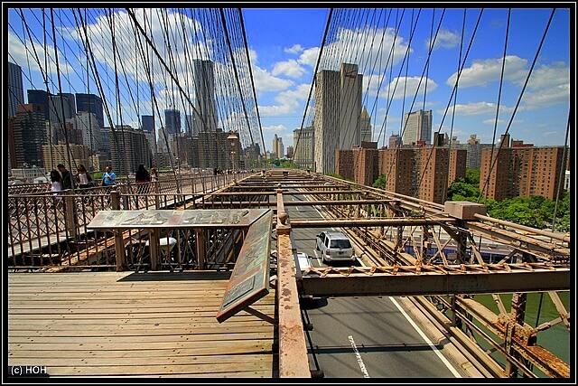 Blick nach Manhattan