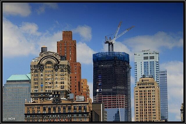 Freedom Tower aus der Nähe