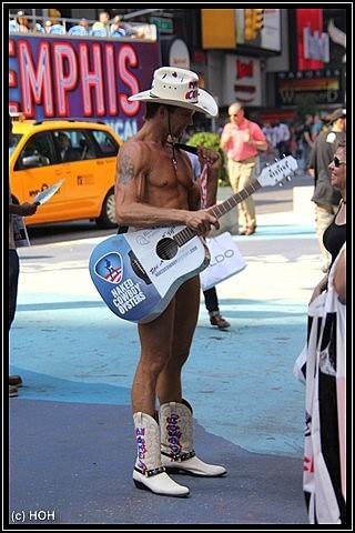 Der Coyboy und seine Gitarre