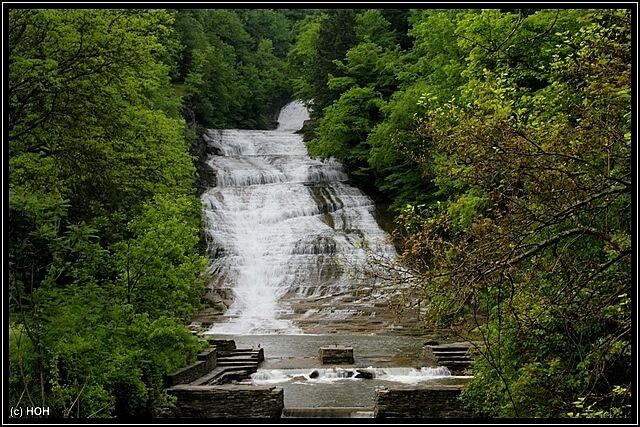 Buttermilk Falls ... Blitz-Stop