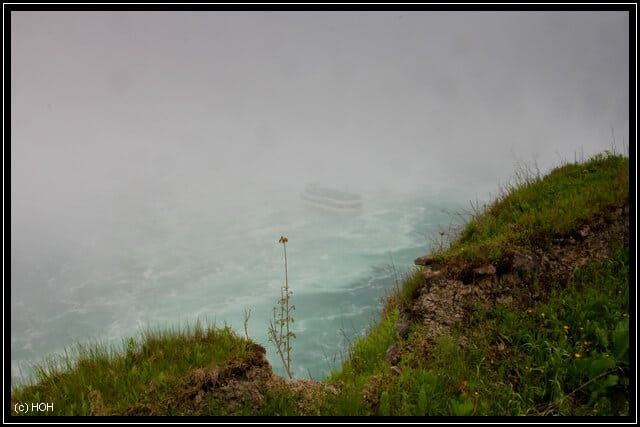 Maid of the Mist ... in the Mist