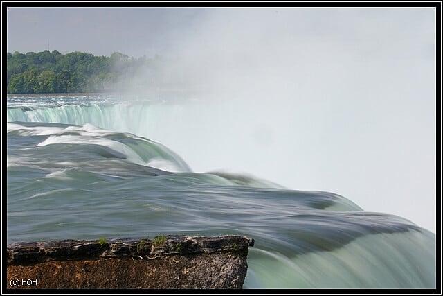 Die amerikanische Seite der Niagara Fälle