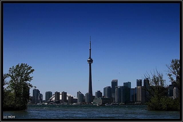 Der CN Tower in Kanada